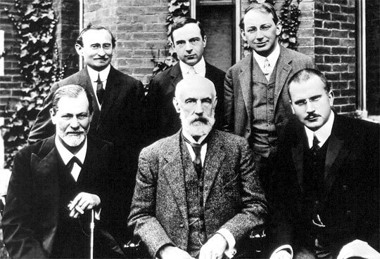 C.G. Jung & Freud in US